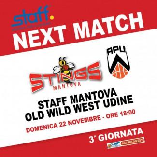 Pre-partita di Staff Mantova-Old Wild West Udine con le dichiarazioni di Di Paolantonio e Infante