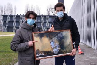 Virtus Segafredo Bologna - Supportart: il dipinto di Weems