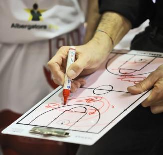 RivieraBanca Basket Rimini-Andrea Costa Imola, prepartita con Coach Massimo Bernardi
