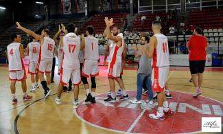 Supercoppa : RivieraBanca Basket Rimini-Montegranaro 91 - 64