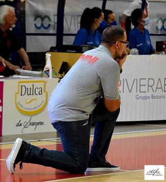 RivieraBanca Basket Rimini-Senigallia, prepartita con Coach Mattia Ferrari