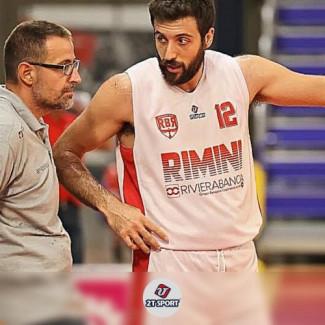 Scrimmage Andrea Costa Imola-RivieraBanca Basket Rimini, le parole di Coach Mattia Ferrari