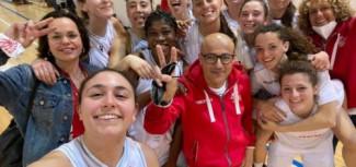 Facile poker per il Basket Girls Ancona
