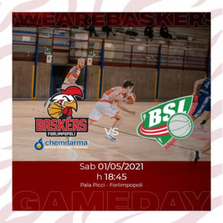 Pre - gara Baskérs Forlimpopoli - B.S.L. S.Lazzaro di Savena