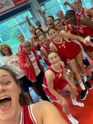 Il Basket Girls Ancona suda ma vince ancora. A Castel San Pietro ottava perla biancorossa
