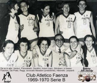 FOTO STORICHE - Club Atletico Faenza: Cinquant'anni fa la serie A