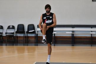 Virtus Segafredo Bologna : Ultimo giorno di allenamento prima della partenza per Folgaria