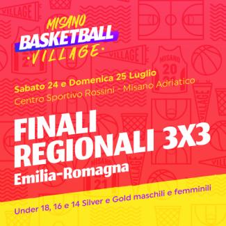 FIP -  Finali regionali 3x3  a Misano Adriatico