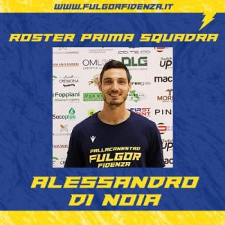 Fulgor Basket Fidenza 2014 : Alessandro Di Noia riconfermato