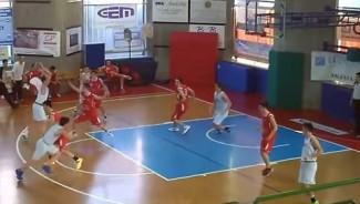 Basket Under 13 , il gioco del - Santo -.