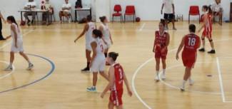 Bel test del Basket Girls Ancona contro Pallacanestro Perugia