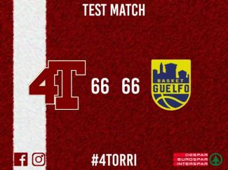 4 Torri Basket Ferrara , pari colmo di tensione contro Guelfo Basket