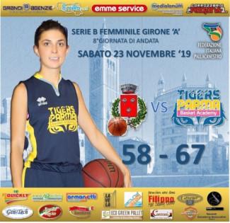 BK Club Val D'Arda  -  Tigers Basket Academy Parma   58 - 67