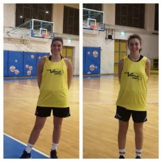 Claudia Girelli e Valeria Nanni sono due nuove  giocatrici della Serie C Femminile Nuova Virtus Cesena