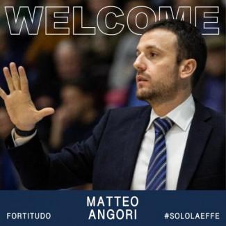 Matteo Angori sarà il secondo assistente allenatore della prima squadra della Fortitudo Pallacanestro Bologna
