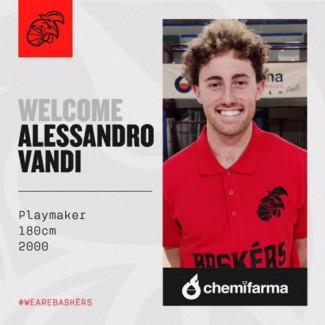 Baskérs Forlimpopoli  -  Alessandro Vandi è un nuovo innesto