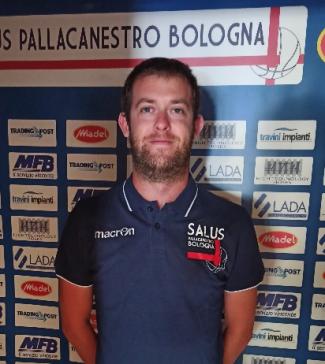 Salus Basket Bologna : Stagione 2020/21: raggiunto l'accordo con il giovane allenatore Enrico Capelli