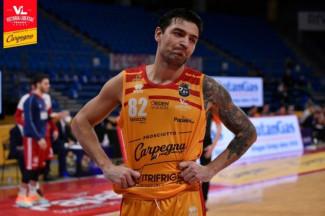 Carpegna Prosciutto Basket Pesaro : Carlos Delfino assente a Sassari