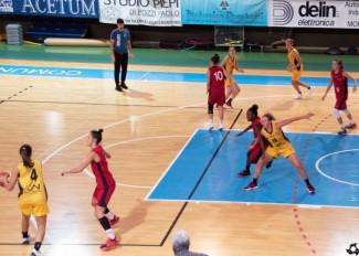 Basket Acetum Cavezzo : Piovre buon test con Fiorenzuola