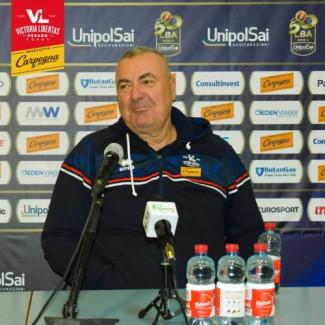 Coach Jasmin Repesa presenta Virtus Roma -  Carpegna Prosciutto Basket Pesaro