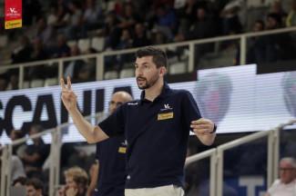 Coach Federico Perego presenta Pesaro vs Virtus BO.
