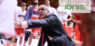 Lux Chieti - Pallacanestro 2.015 Unieuro Forlì : Il prepartita di coach Dell'Agnello