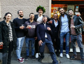 La grande famiglia del Cus Bologna festeggia un cestista