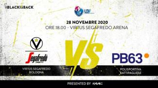 LBF, 9° giornata: Virtus Segafredo Bologna vs O.ME.P.S. BricUp Battipaglia