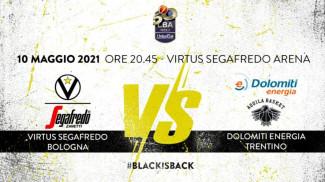 Virtus Segafredo Bologna - LBA, 30° giornata: il prepartita della sfida con Trento