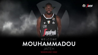 Mouhammadou Jaiteh nuovo acquisto di Virtus Segafredo Bologna