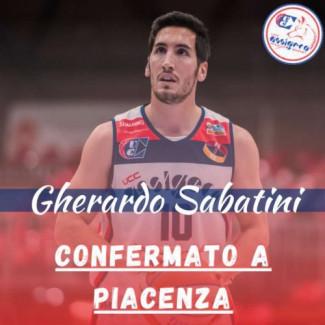 Gherardo Sabatini rilancia la sfida con la UCC Assigeco Piacenza