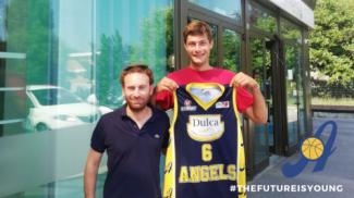 Angels Basket Santarcangelo  : Ettore  Semprini -  Grande ritorno in casa gialloblù