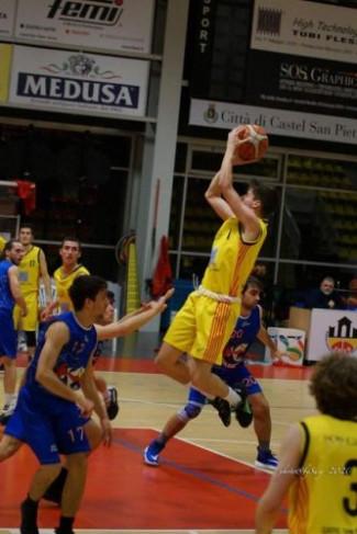 Pall. Castel San Pietro 2010   vs Massa Basket 2010   78 - 40