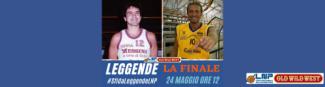 Leggende, la finale è tra Francesco Mannella - Trapani, e Pino Corvo - Scafati. Da Domenica 48 ore per eleggere il vincitore.