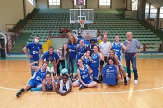 Libertas Basket Rosa Forlì - Thunder Halley Basket Matelica  40 - 80