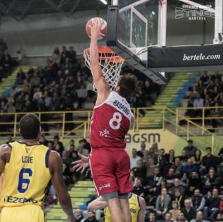 Lunedì 9 Marzo 2020 Pompea Mantova - Tezenis Verona a porte chiuse , diretta su Sportitalia