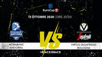 EuroCup 7DAYS: MoraBanc Andorra vs Virtus Segafredo Bologna