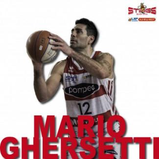 Pallacanestro Mantovana Stings : Confermato il capitano biancorosso Mario Ghersetti