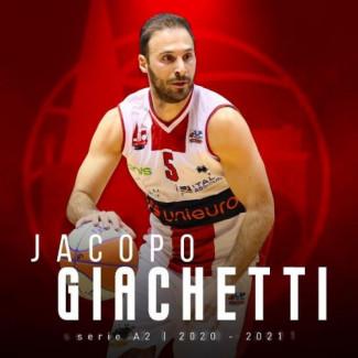 Pallacanestro 2.015 Unieuro Forlì : Rinnovato il contratto di Jacopo Giachetti