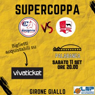 UCC Assigeco Piacenza vs Bakery Piacenza : inizia la vendita oline  dei biglietti per l'esordio in SuperCoppa