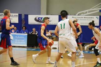 Serie  C Gold 3a giornata andata - Vittoria del Bologna Basket 2016 a Lugo per 80-63.