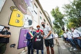 A Faenza inaugurati i murales di Kobe Bryant e Simona Ballardini alla presenza di Belinelli e Paolo Ronci