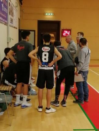 Peperoncino Libertas Basket  vs Pizzoli Veni Basket   58 - 56