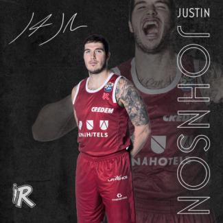 Pallacanestro Reggiana - Justin Johnson resta in biancorosso