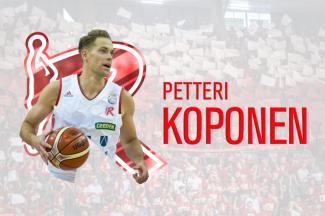 Pallacanestro Reggiana : Petteri Koponen è biancorosso!!