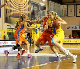 Fixi Piramis Torino - Lavezzini Basket Parma 72 – 95