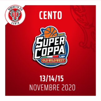 A Cento la Final Eight di Supercoppa LNP 2020 Old Wild West