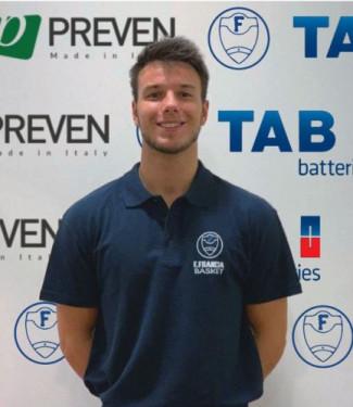 Lorenzo Folli è un nuovo giocatore della Francesco Francia Pallacanestro  Zola Predosa