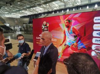 Luca Baraldi : E' cambiato completamente l'assetto rispetto all'anno scorso della Segafredo Arena