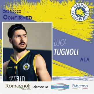 Il capitano Luca Tugnoli sempre con la Pallacanestro Budrio !!